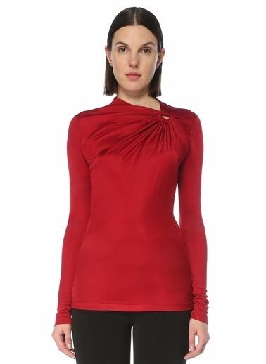 Etoile Isabel Marant Isabel Marant  Drapeli Bluz 101623708 Kırmızı
